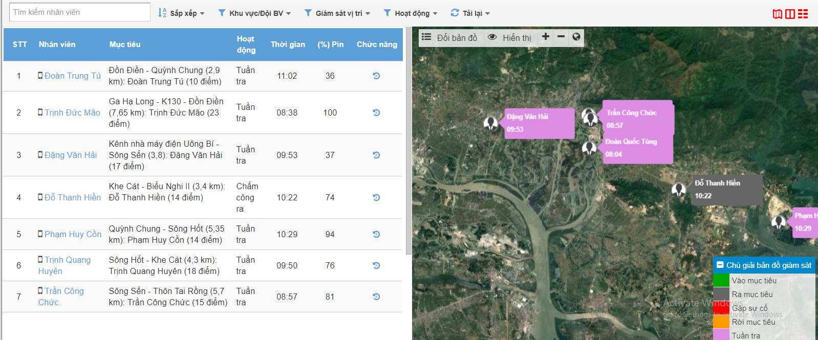 Xí Nghiệp Kho Vận Xăng Dầu K130 ứng dụng giải pháp giám sát tuần tra bảo vệ bằng di động SmartGuard